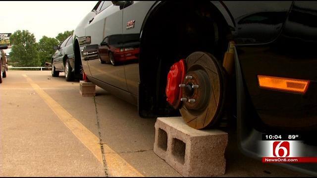 Thieves Target Wheels, Tires At Bartlesville, Broken Arrow Car Lots