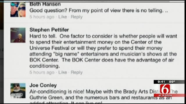 OK Talk: What Will The Center Of The Universe Festival Look Like In 5 Years?