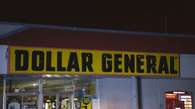 WEB EXTRA: Video From Scene Of Dollar General Store Robbery