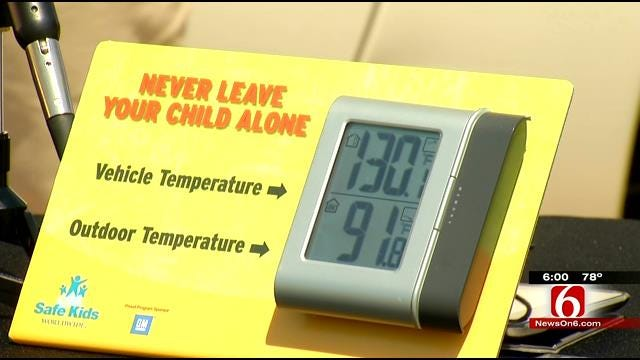Legislator Wants To Crack Down On Those Who Leave Children In Hot Vehicles