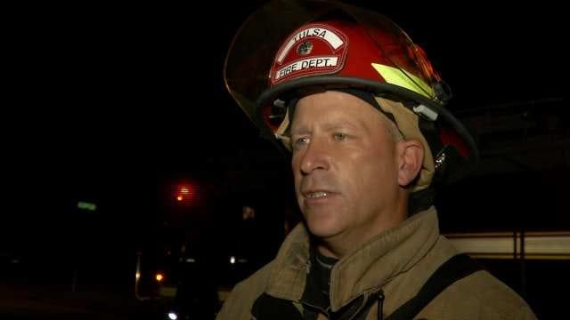 WEB EXTRA: Tulsa Fire Captain Tony Woods Talks About Mattress Fire