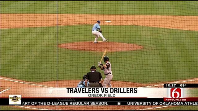 Drillers Vs. Arkansas Game 2