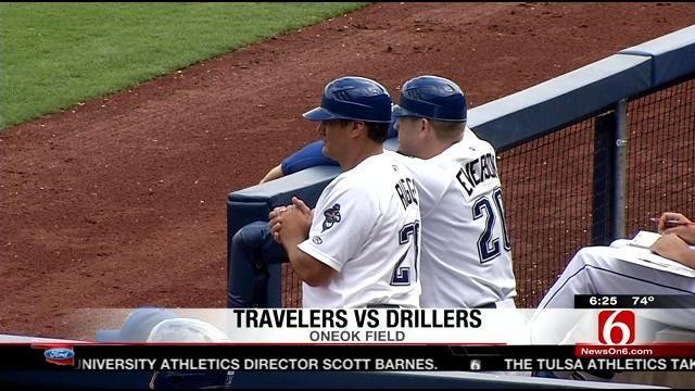 Drillers Vs. Travelers Game 1