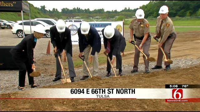 Sheriff's Office Breaks Ground On New Tulsa County Training Center
