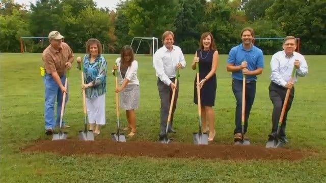 WEB EXTRA: Video Of Lee Elementary School's New Outdoor Classroom Ground Breaking