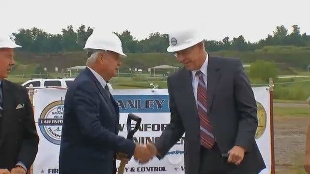 WEB EXTRA: Video Of Sheriff's Office Training Center Ground Breaking Ceremony