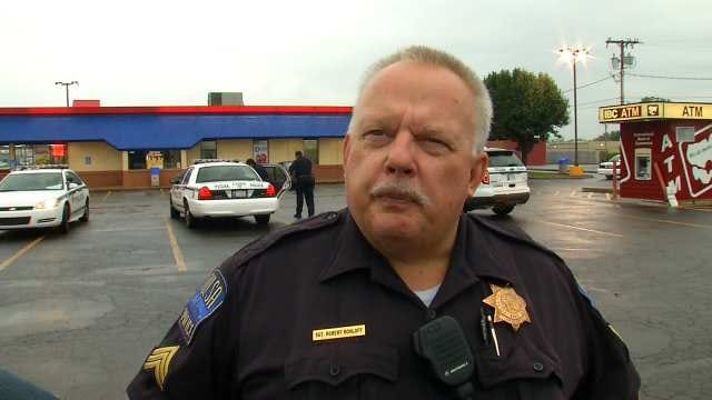 WEB EXTRA: Tulsa Police Sgt. Robert Rohloff Talks About The Robbery