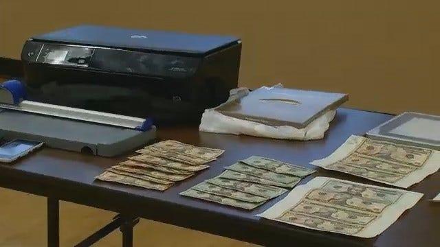 Tulsa Deputies Arrest Two Men After Finding Counterfeit Money In Car