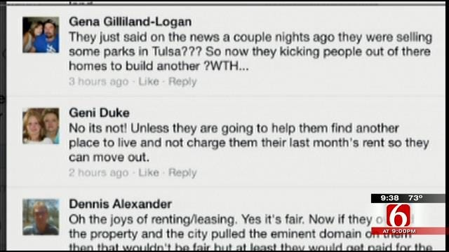 OK Talk: Is It Fair To Force People To Move To Make Way For A Park?