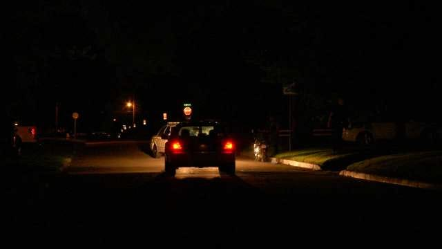 WEB EXTRA: Video From Scene Of Arrest Of Tulsa Car Burglar