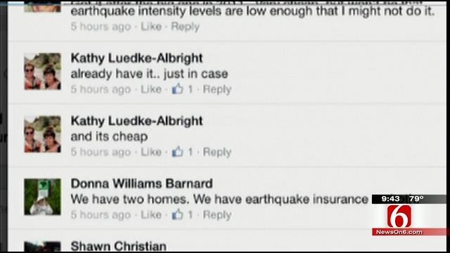 OK Talk: Would You Ever Buy Earthquake Insurance?