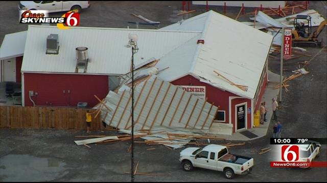 Power Restored But Damage Done After Storms Hit Mayes County