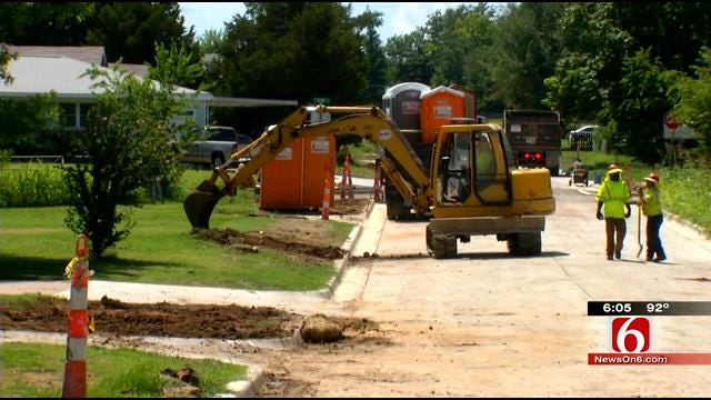 City: Water Line Breaks Typical For Tulsa Due To Weather, Soil