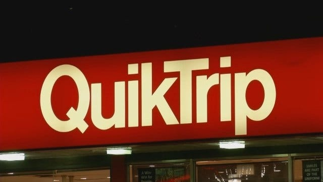 WEB EXTRA: Attempted Robbery At North Tulsa QuikTrip