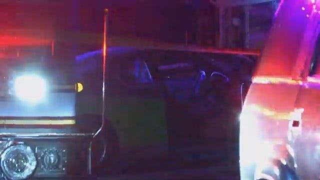 WEB EXTRA: Scenes From Tulsa Fatal Stabbing