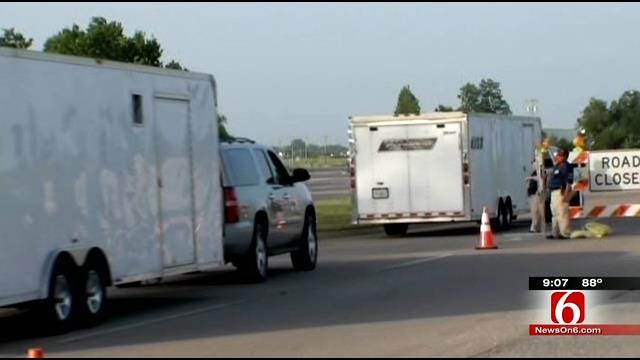 Tulsa Port Road Closed For Shooting Of 'Street Outlaws'