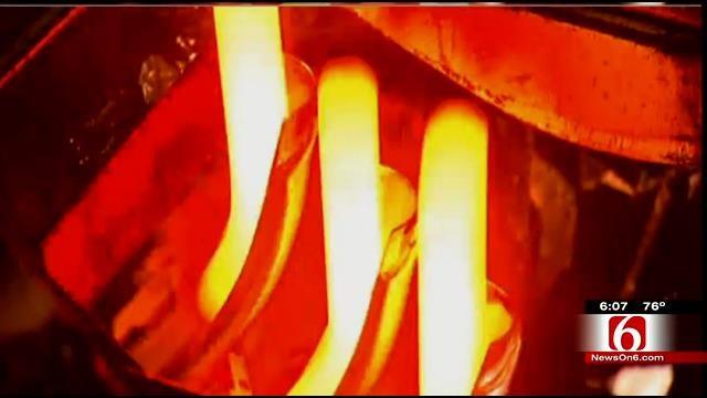 Muskogee Glass Plant Damaged By Furnace Leak