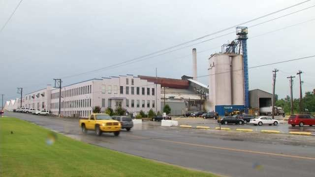 WEB EXTRA: Video Of Muskogee Glass Plant