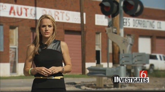 6 Investigates: Volatile Materials Transported On Oklahoma Rails