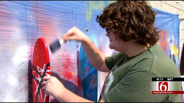 Skateboard Designing Teaches Tulsa Students STEM Principles
