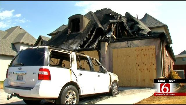 Investigators: Fireworks May Be To Blame For Broken Arrow House Fire
