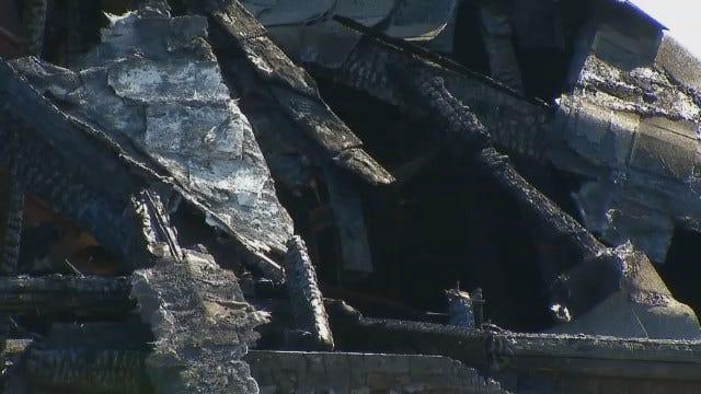 WEB EXTRA: Video Of Fire Damaged Broken Arrow Home