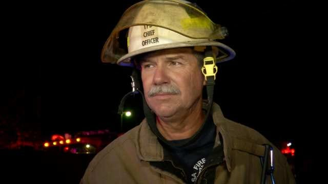 WEB EXTRA: District Chief On Tulsa House Fire