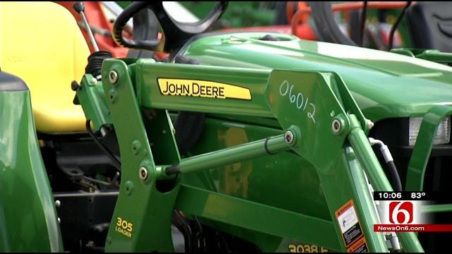 Thieves Take $30,000 In Equipment From Enlow Tractor