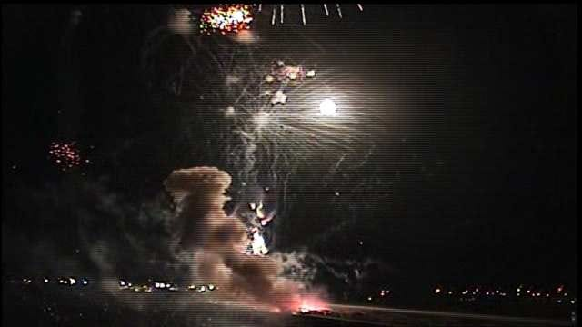 WEB EXTRA: Jenks Boomfest Finale Explosion