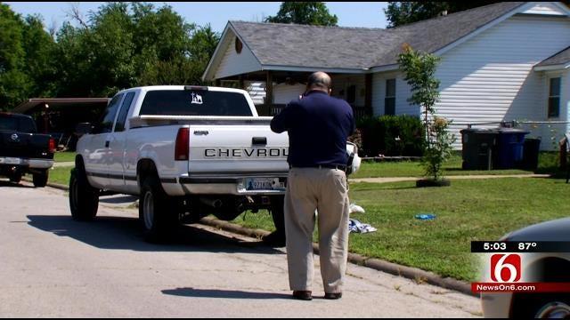 Motorcyclist Shoots Man Outside North Tulsa Home
