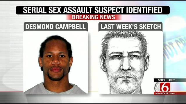 Comatose Ex-Con Is Suspect In Tulsa Serial Sexual Assaults