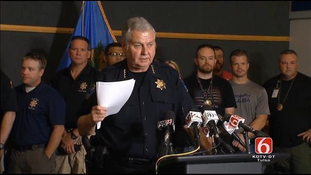 WEB EXTRA: Tulsa Police Chief Chuck Jordan News Conference