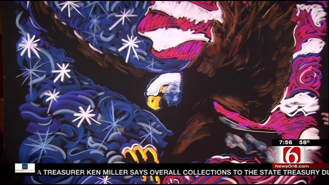 Chalk Artist Richard Hight Reveals Chalk Art Work Created On 6 In The Morning