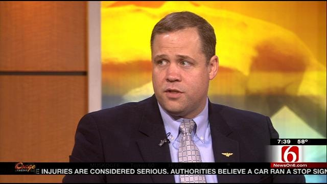 WEB EXTRA: Congressman Jim Bridenstine Talks About Being Denied Access At Fort Sill Facility