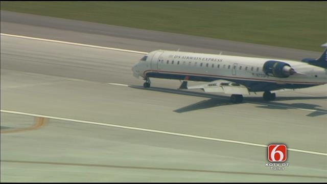 Osage SkyNews 6 HD: First Direct Flight From Charlotte To Tulsa Lands At Tulsa International Airport