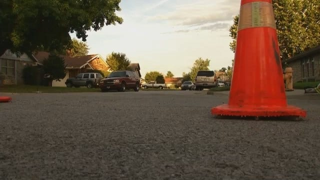 WEB EXTRA: Video From Scene Of Chemicals Found At East Tulsa Home