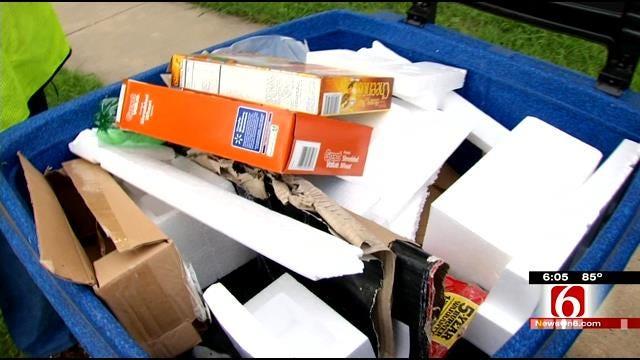 City Sending Auditors To Inspect Tulsa Recycling Carts