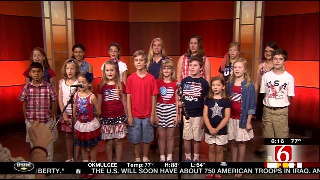Tulsa's Signature Kids Perform On 6 In The Morning