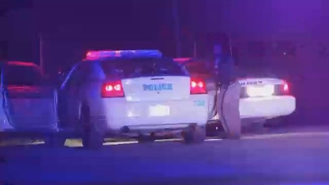 WEB EXTRA: Video From Scene At End Of Police Chase In Creek County