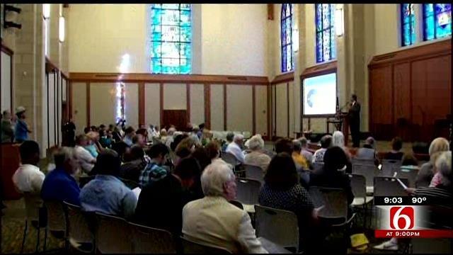 Tulsa Mayor Proposes More Funding For Police At Neighborhood Meeting