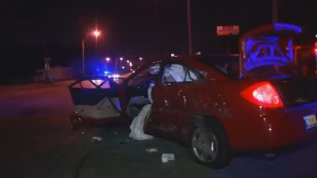 WEB EXTRA: Video From Scene Of North Peoria Crash