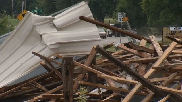 WEB EXTRA: Video Of Tornado Damage in Adair
