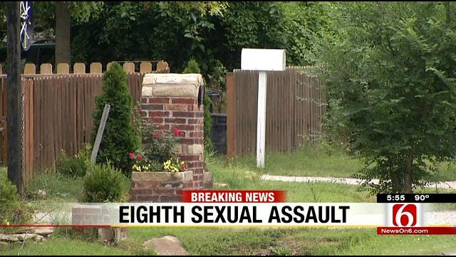 Tulsa Police: Woman In Her 60s Sexually Assaulted In 8th Attack