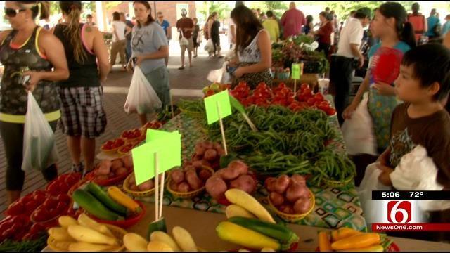 Broken Arrow Farmers Market Off Great Summer Start