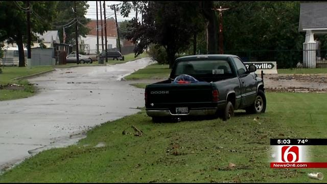 Flooding In North Tulsa Causes Problems For Drivers