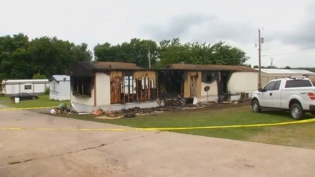 WEB EXTRA: Video From Scene Of Deadly Cherokee County Mobile Home Fire