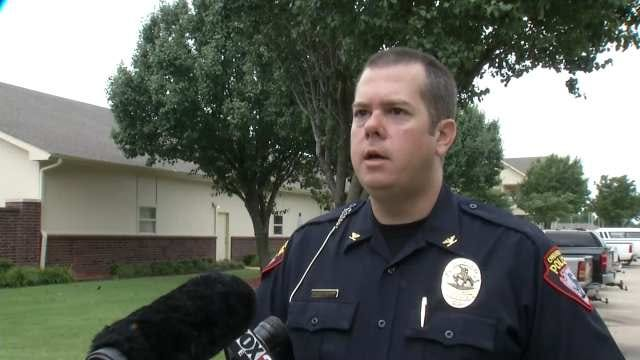 WEB EXTRA: Owasso Police Deputy Chief Jason Woodruff Talks About Device Found At Greens Apartments