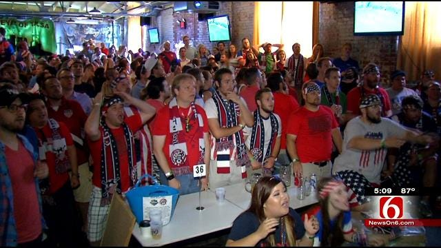 World Cup Fever Packs Downtown Tulsa Bars