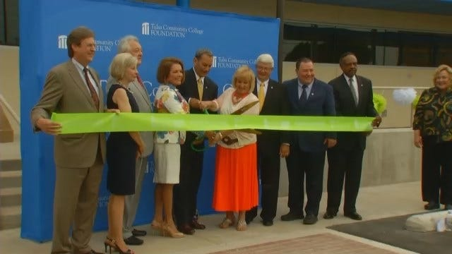WEB EXTRA: Video Of Dedication Ceremony For TCC's Nate Waters Physical Therapy Clinic