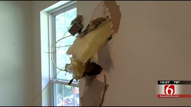 Artillery Shell Crashes Into Ottawa County Home's Bedroom Wall